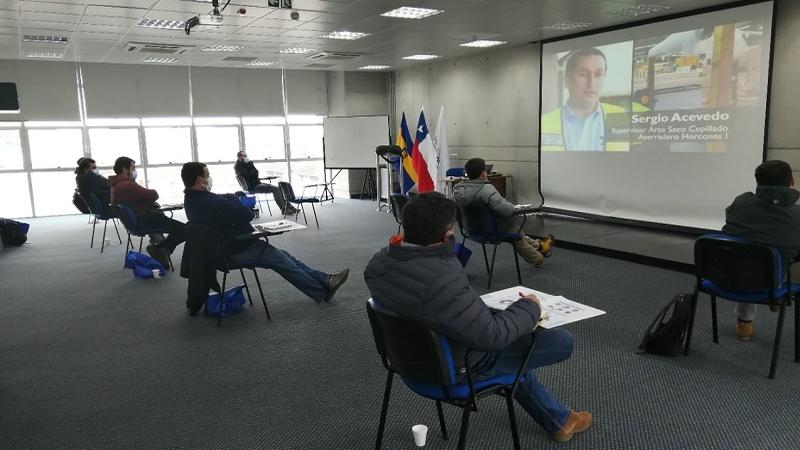 Empresa Doña Isidora valoró trabajo de Departamento de Capacitación IPVG