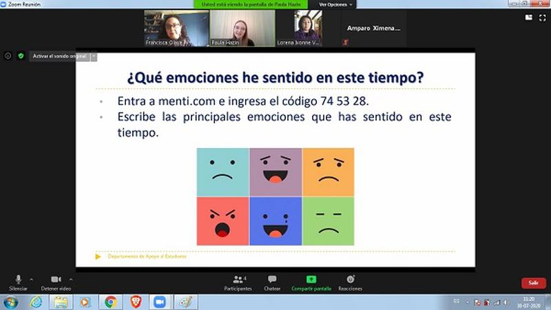 Charla sobre contención emocional es aprovechado por estudiantes y funcionarios  del IPVG