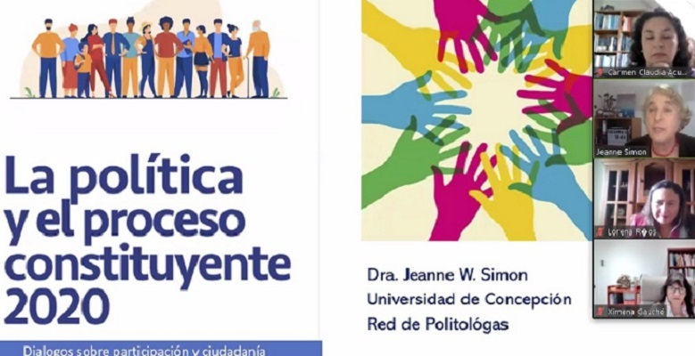Cientista política dirige actividad aclarando dudas del proceso constituyente