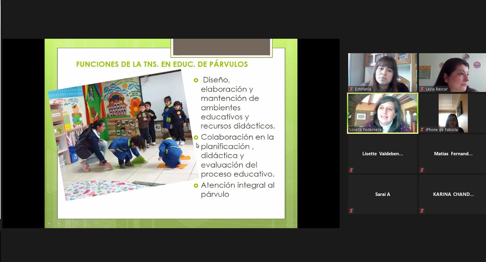 Sede Los Ángeles realizó actividad pedagógica para Liceo Campanario