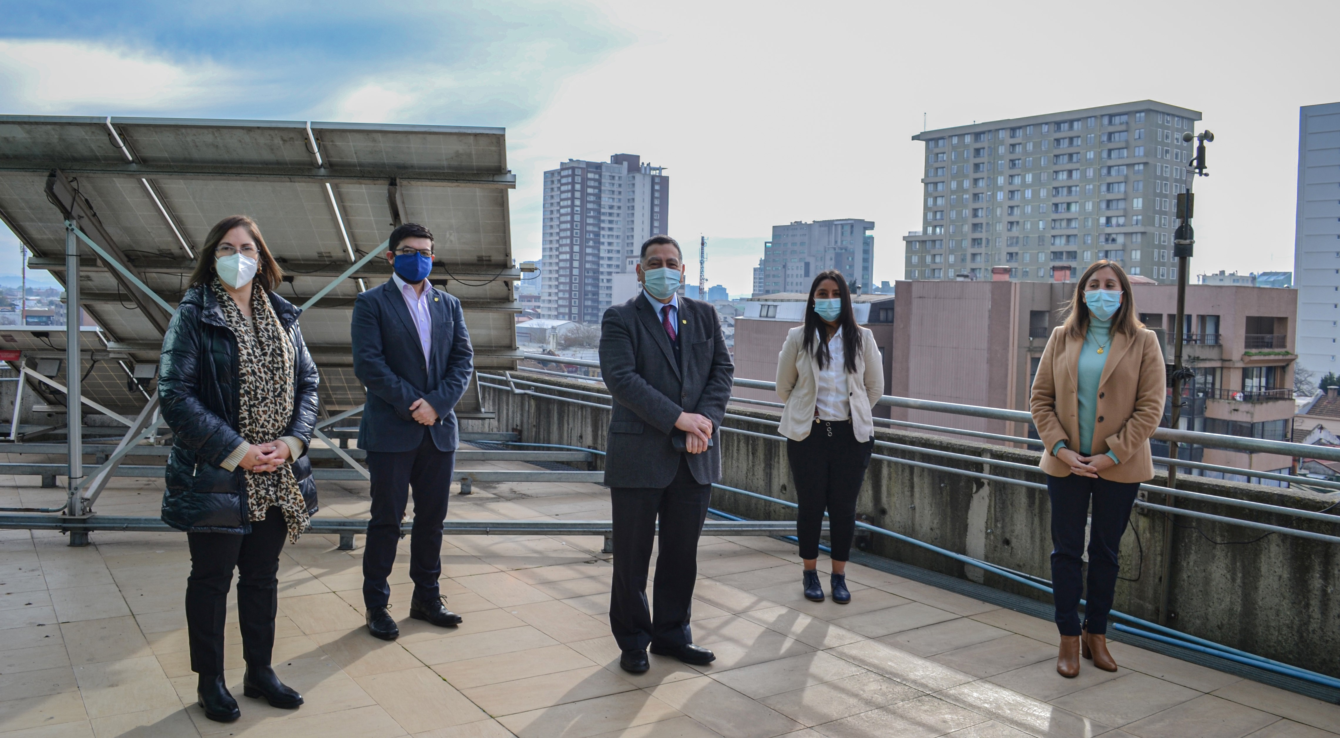 IPVG inauguró equipo de medición de material particulado en el aire