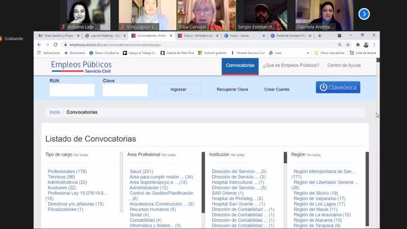 """DVCM organizó charla """"Vocación de Servicio y el Empleo en el Estado"""" para titulados"""