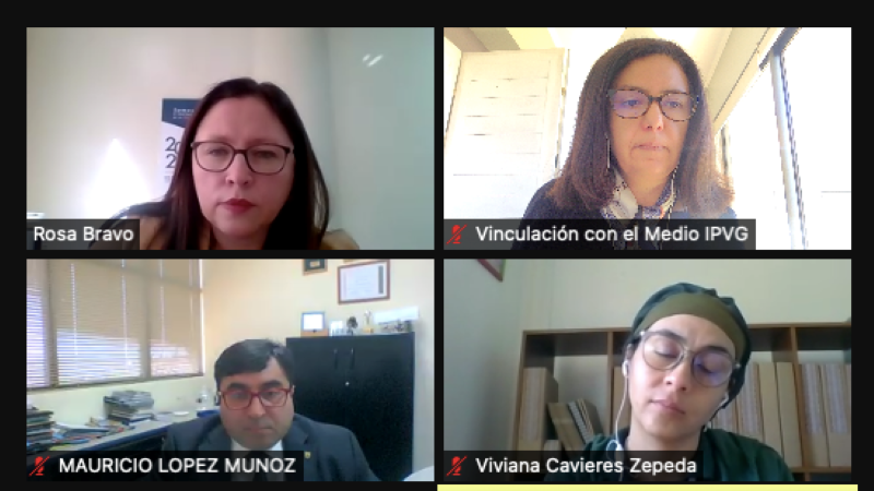 Chillán: Área de educación realizó reunión técnica de trabajo